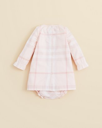 Burberry Infant Girls' Woven Dress & Bloomer - Sizes 3-24 Months