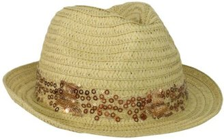 Collection XIIX Women's Sequin Band Fedora Hat