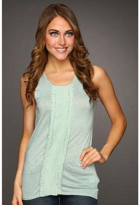 Calvin Klein Jeans Knit Tank w/Insert (Frosty Green) - Apparel