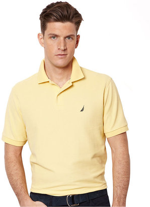 Nautica Shirt, Short Sleeve Solid Deck Shirt