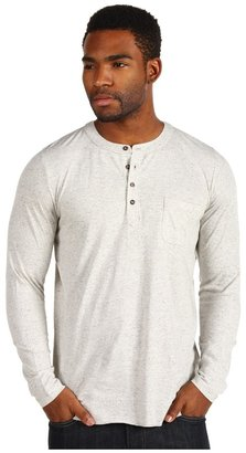 Obey Whistler Henley (Heather Oatmeal) - Apparel