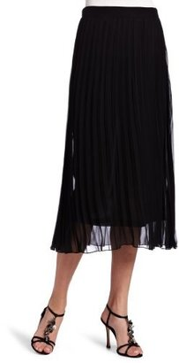 Kensie Women's Crepe Chiffon Skirt