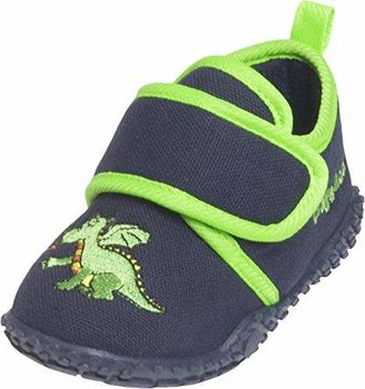 Playshoes Boys House Dragon Design Slippers 201751 10.5 UK Child, 28 EU, Regular