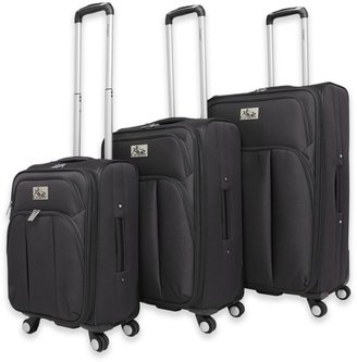 Chariot Marsala 3-Piece Expandable Spinner Luggage Set