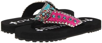 Gypsy SOULE Cotton Candy-Lug Flat (Black) - Footwear