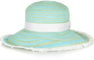 Missoni Striped woven sunhat
