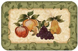 Fruit Platter Kitchen Mat