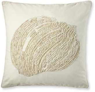 Williams-Sonoma Beaded Shell Pillow Cover