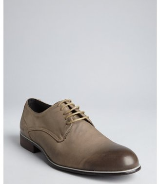 Kenneth Cole Reaction cement leather distressed toe 'Lite Trim' oxfords