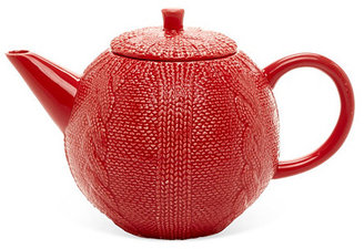 Sweater Teapot, Red