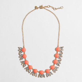 J.Crew Factory Factory pointed petal necklace