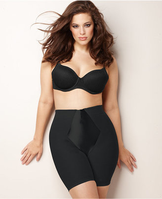 Maidenform Plus Size Firm Control Easy Up Thigh Slimmer 12357