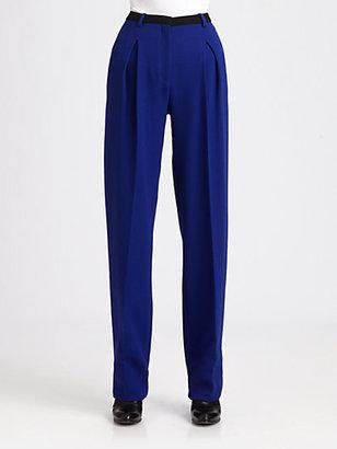 CNC Costume National Wool Crepe Pants