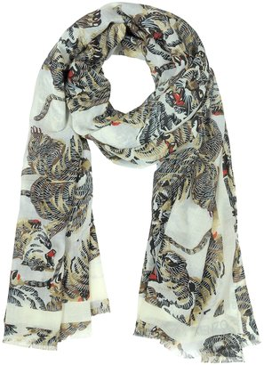 Kenzo Flying Tigers Wool Stole