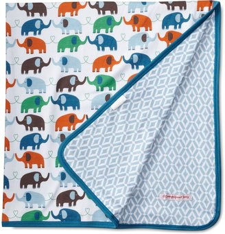 Magnificent Baby Boy's Elephant Reversible Blanket Marrakesh/Elephant One Size 1-Pack