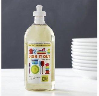 Crate & Barrel Better LifeTM Dish It OutTM Natural Dish Soap