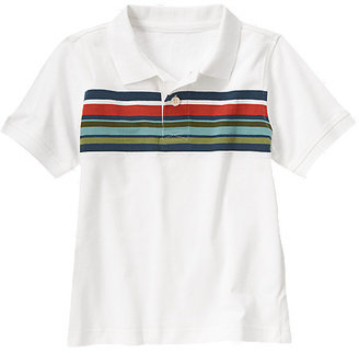 Gymboree Chest Stripe Polo Shirt