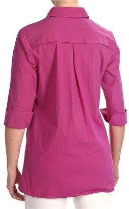 Foxcroft Stretch Shaped Tunic Shirt - 3/4 Sleeve (For Women)