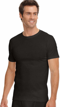 Jockey men classic collection crew-neck tagless Undershirt 3-pack with staynew technology