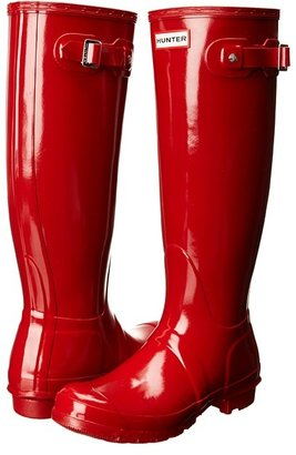 Hunter - Original Gloss Women's Rain Boots $150 thestylecure.com