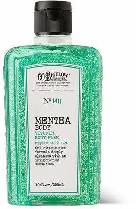 C.O. Bigelow Mentha Vitamin Body Wash, 295ml - Green