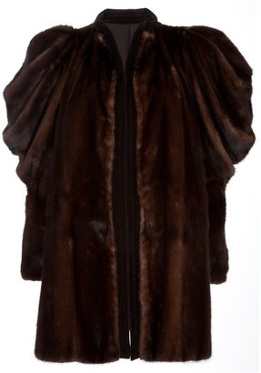 Versace Gianni Vintage mink fur coat