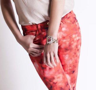 Mawi Crystal Flower Bracelet