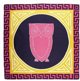 Jonathan Adler 'Chinoiserie Owl' Silk Scarf