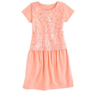 J.Crew Girls' paillette jersey dress