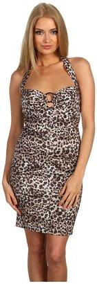 Type Z Krysta Dress (Leopard) - Apparel
