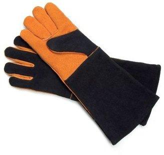 Steven Raichlen Leather BBQ Gloves, Set of 2