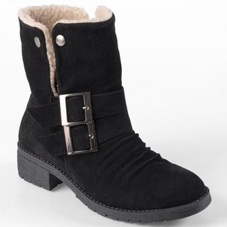 Journee Collection muscle ankle boots - women