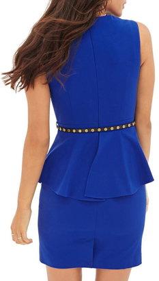 Forever 21 contemporary sleeveless peplum dress