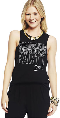 Wet Seal TupacTM California Tank