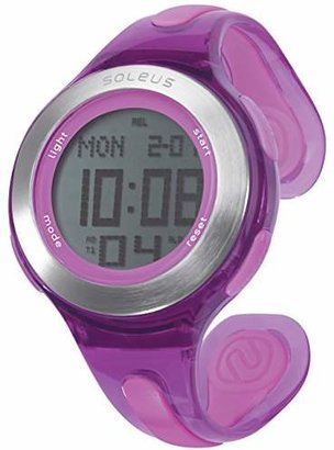 Soleus Women's SR017-510 Swift Digital Display Quartz Purple Watch