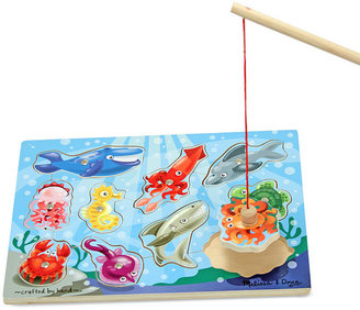 Melissa and Doug Toy, Fishing Magnetic Puzzle Game $9.99 thestylecure.com