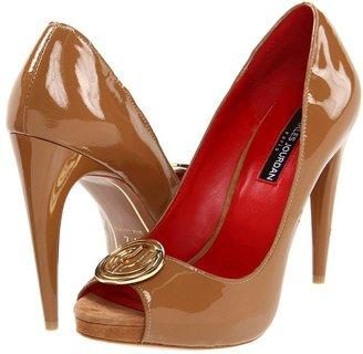 Charles Jourdan Lynette II (Mocha Patent) - Footwear