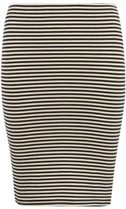 Dorothy Perkins Petite stripe tube skirt