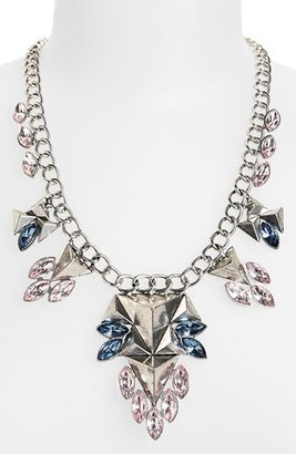 Topshop Triangle Stone Collar Necklace
