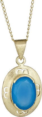 Betty Carre Oval-Stone Pendant Necklace