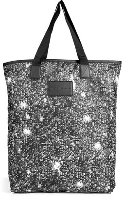 Marc by Marc Jacobs Sequin Print Shopper Tote in Black Multi
