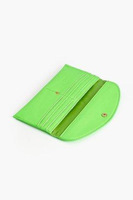 Nasty Gal Atomic Neon Wallet - Green