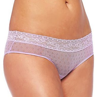 JCPenney Cosmopolitan Microfiber Lace Mesh Hipster Panties