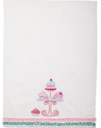 Sur La Table Pink Cupcake Vintage-Inspired Kitchen Towel