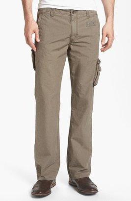 John Varvatos 'Explorer' Linen Cargo Pants
