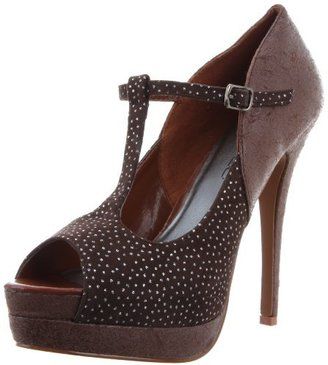 C Label Women's Jocelyn-60 Platform Pump
