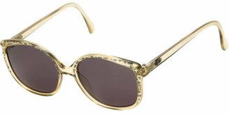 Christian Dior PRE-OWNED butterfly frame sunglasses