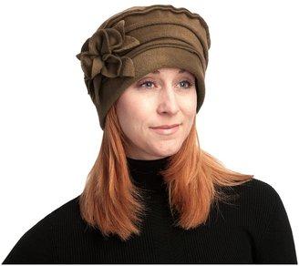 Asian Eye Nikki Fashionable Fleece Hat - Floral Accent (For Women)