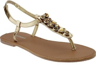 Old Navy Girls Jeweled-Ankle Sandals
