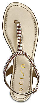 Unisa FISHER WHOLESALE Lanaila Crystal T-Strap Sandals